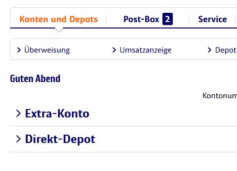 Dividenden-Depot